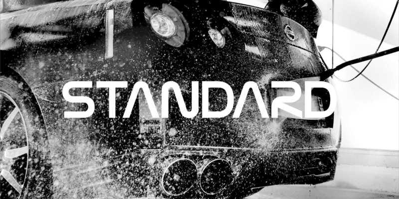 Ruční mytí – Standard